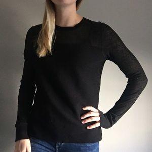 Theory black sweater